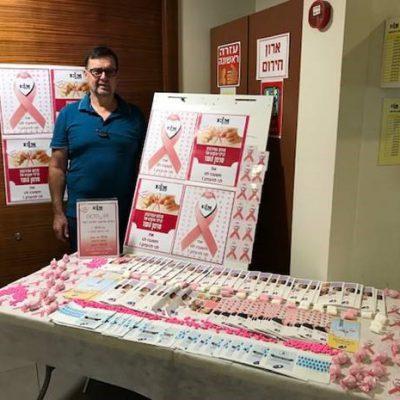 חודש למודעות גילוי מוקדם לסרטן השד